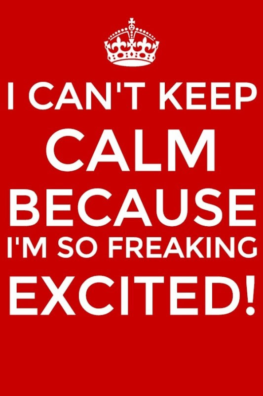 Excited Quotes Excited Sayings Excited Picture Quotes