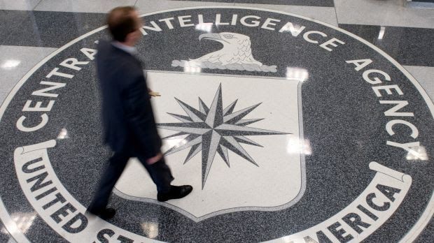 The CIA headquarters in Langley, Virginia.