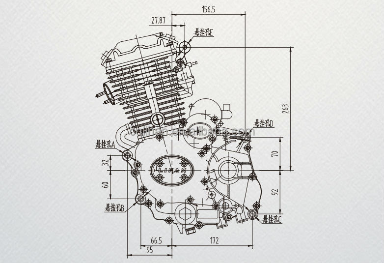 Lifan 200cc Engine Diagram