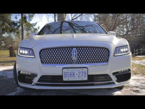 Car update: 2017 Lincoln Continental