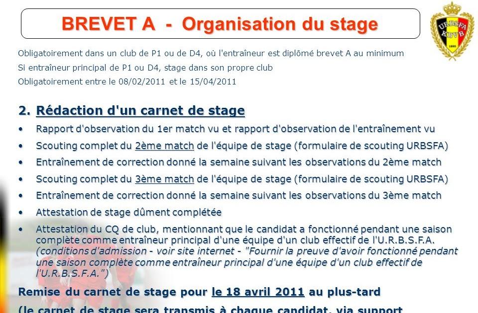 Oral Brevet Rapport De Stage Exemple - Exemple de Groupes