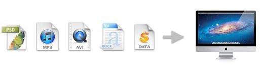 Trasferimento dei file dal PC al Mac