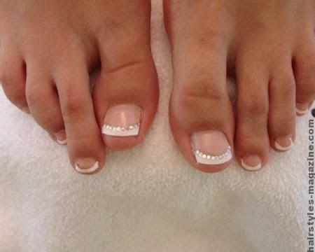 Best 25  French toe nails ideas on Pinterest   Wedding