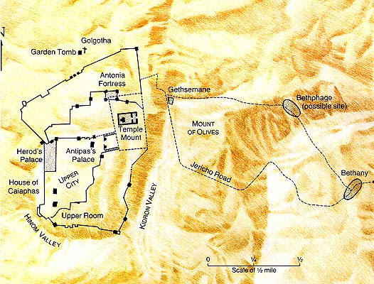 Χάρτης της Ιερουσαλήμ