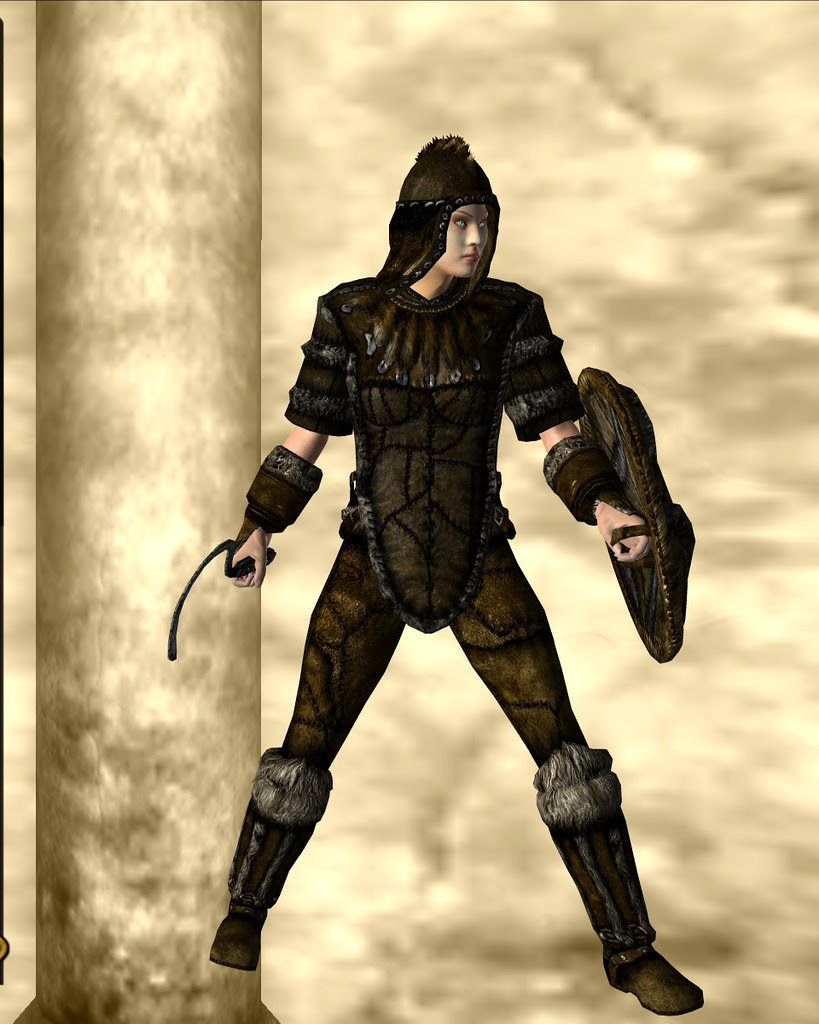 fur armor - brown 01