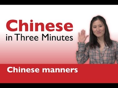 Thank You & You're Welcome in Chinese