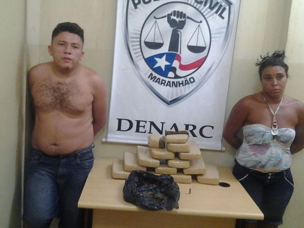 Droga seria vendida em Raposa, a 28 km da capital maranhense (Foto: Domingos Ribeiro/Rádio Mirante AM)