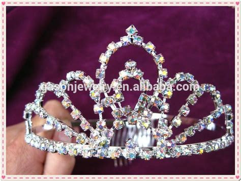 Wholesale Yiwu Pageant Tiara And Tall Pageant Crystal