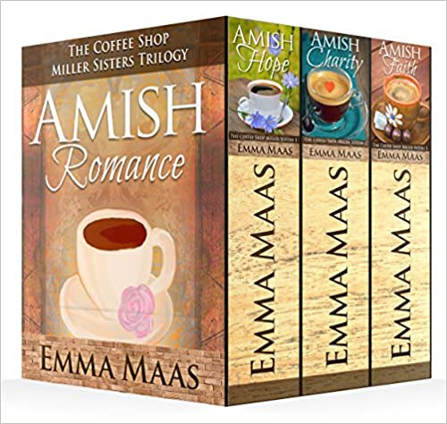 Amish Romance: The Coffee Shop Miller Sisters Complete Box Set (Books 1-3)