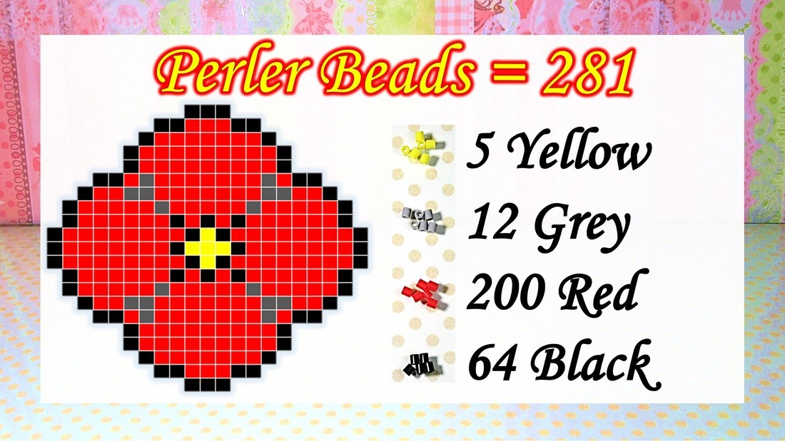 How To Make A Mini Perler Beads Pattern From Image - Bead