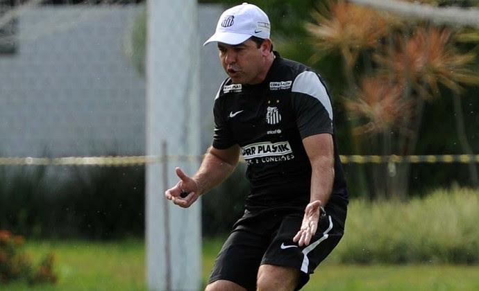 enderson moreira santos treino (Foto: Ivan Storti/Divulgação Santos FC)