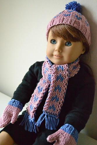 AG in her winter gear