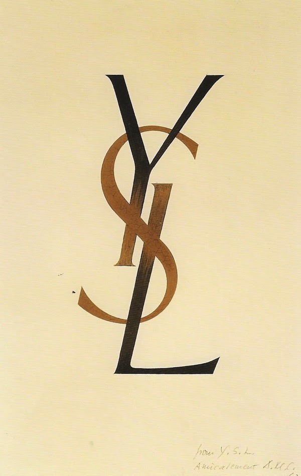 Adolphe Mouron Cassandre's YSL Logo | AnOther