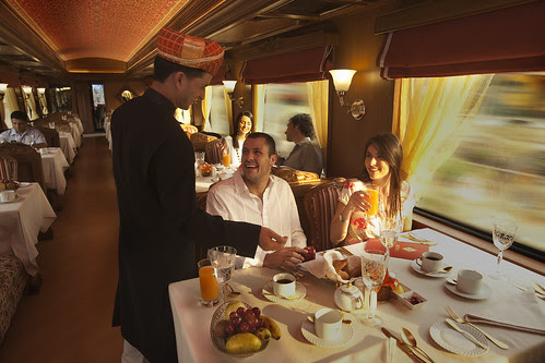 Rang Mahal Restaurant, Maharajas Express Train