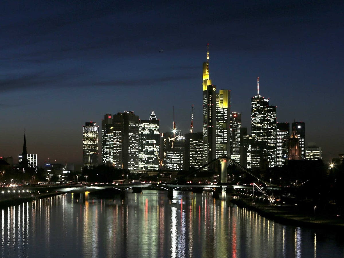 19.) FRANKFURT is down three places on the list, despite the opening of the European Central Bank's massive new headquarters there.