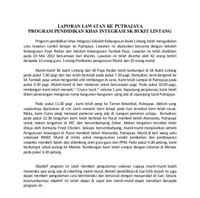 Contoh Karangan Laporan Bahasa Inggeris Spm Kerkosa