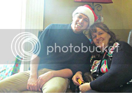 Christmas 2012: Trav Mom