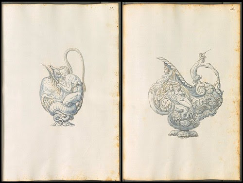 ornamental jug sketches