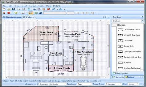 simple floor plan software floor plan design software