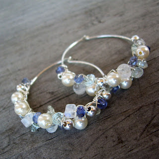vegan bridal earrings