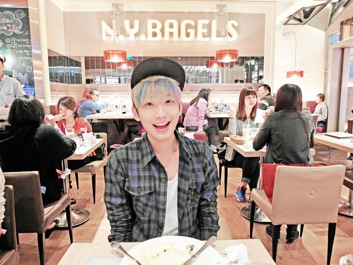 typicalben at  N.Y. Bagels Cafe