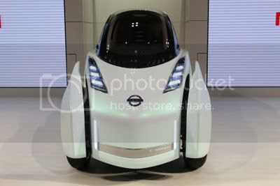 Nissan Land Glider at The 41st Tokyo Motor Show 2