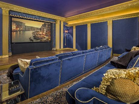 Media Rooms of the Rich and Famous in Dallas, Where One Movie