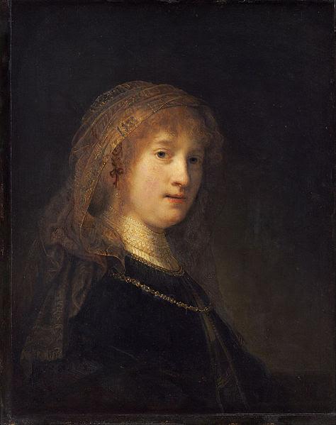 File:Rembrandt van Rijn - Saskia van Uylenburgh, the Wife of the Artist - Google Art Project.jpg