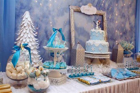 Kara's Party Ideas » Frozen winter wonderland themed