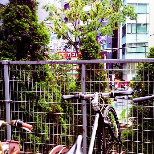 駐輪場@渋谷 by cinz