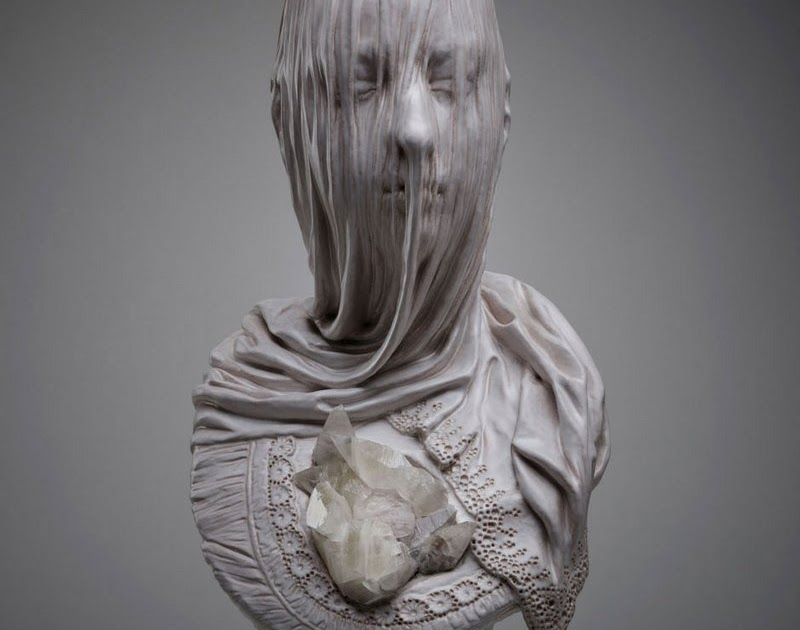 Artists that rock veiled souls carved from stone and