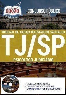 Apostila TJ-SP Psicólogo Judiciário 2017