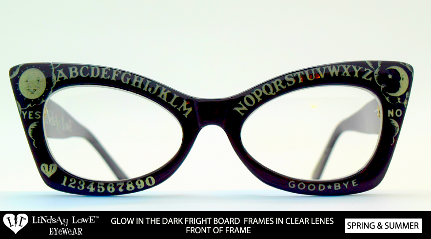Limited Fright Board Glow In The Dark Frame Clear Lenses