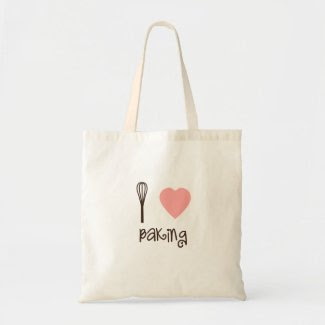 I love Baking Eco Shopping Bag bag
