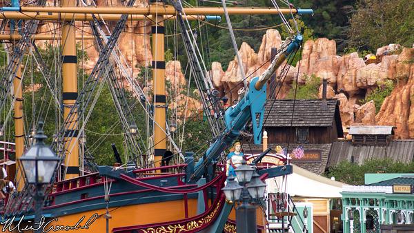 Disneyland Resort, Disneyland, Columbia, Big Thunder