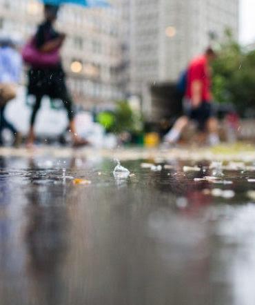 Rainy days in Leeds