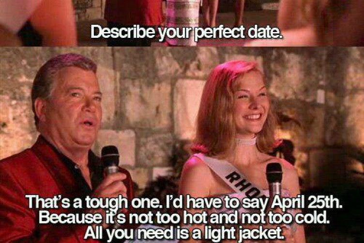 Today 25 April Is The Perfect Date The Daily Edge