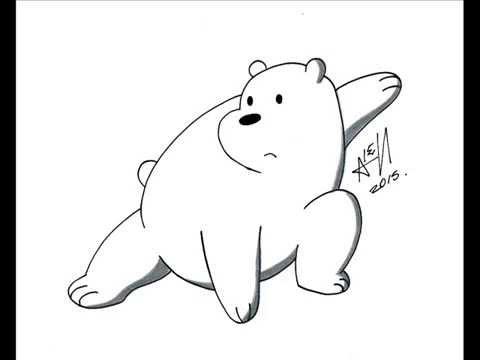 How To Draw We Bare Bear Como Dibujar A Escandalosos Oso Polar