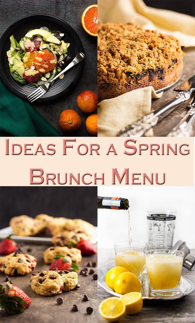 Ideas For A Spring Brunch Menu Just A Little Bit Of Bacon