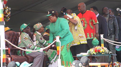 ZANU-PF campaign launch at Highfield on July 5, 2013. Zimbabwe is preparing for national elections on July 31. by Pan-African News Wire File Photos