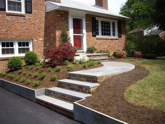 Landscaping Plans For Split Level Homes Landscape Ideas Backyard