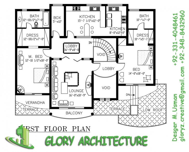Stunning 30 X 60 House Plan Map Ranch House Plans 30x60 White