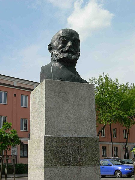 Monumento de Zamenhof en Bialistoko