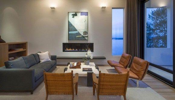 Cómo decorar una Sala o Living Room 11 580x333 Cómo decorar una Sala o Living Room   Diseño Interior Inspiración