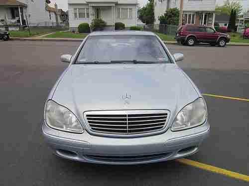 Purchase used 2001 Mercedes-Benz S500 Guard Sedan 4-Door 5 ...