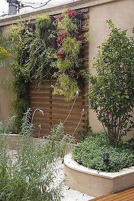 Jardim vertical inspiração