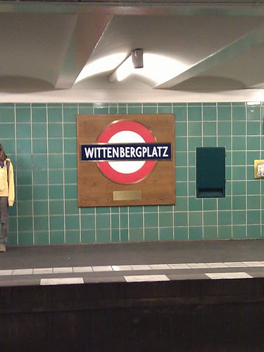 Where the Berlin U-Bahn Meets The London Underground by Vicchi