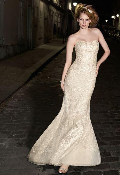 David's Bridal BRAND NEW ? Galina Signature Strapless