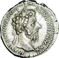 Denarius of Marcus Aurelius, Rome, 168 AD