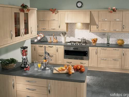 Cozinha planejada bege